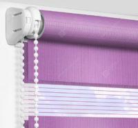 Рулонные шторы День-Ночь - Монца фиолетовый 53