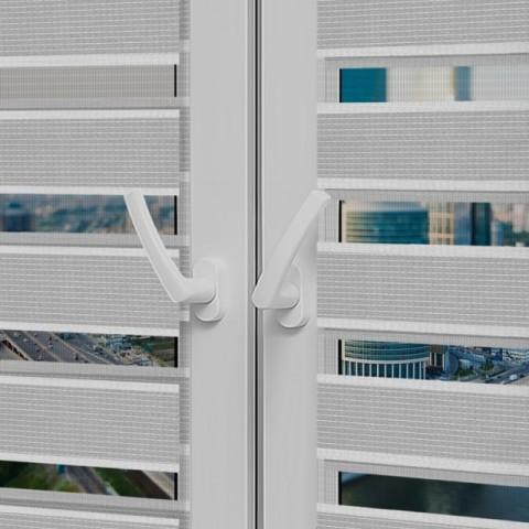 Рулонные шторы День-Ночь - Римини 45 на пластиковые окна