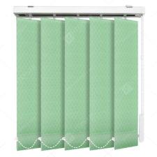 Вертикальные тканевые жалюзи Кёльн зеленый
