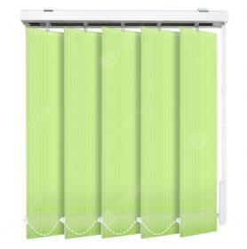 Вертикальные тканевые жалюзи Лайн зеленый