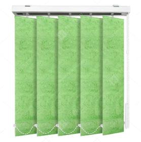 Вертикальные тканевые жалюзи Шёлк светло-зеленый 4132