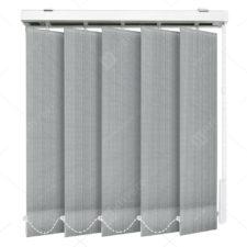 Вертикальные тканевые жалюзи Скрин серый 3846