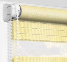 Рулонные шторы День-Ночь - Лигурия желтый 2209