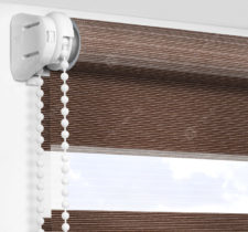 Рулонные шторы День-Ночь - Версаль коричневый 76