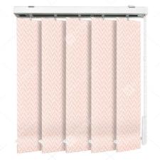 Вертикальные тканевые жалюзи Моран розовый