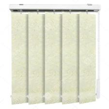 Вертикальные тканевые жалюзи Шёлк молочный